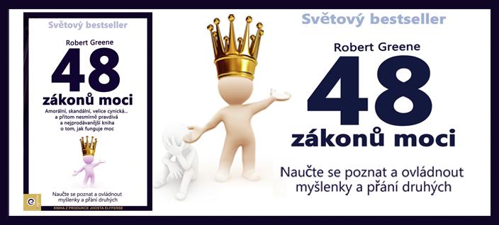 Tip na knihu: Robert Greene – 48 zákonů moci